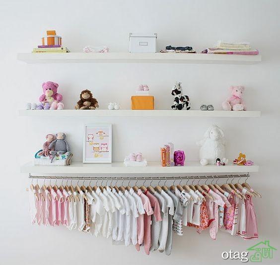 مدل تخت و کمد نوزاد (6)