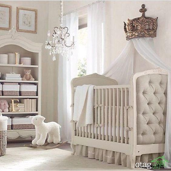 مدل تخت و کمد نوزاد (7)