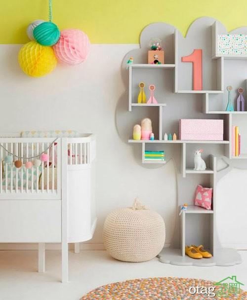 مدل تخت و کمد نوزاد (9)