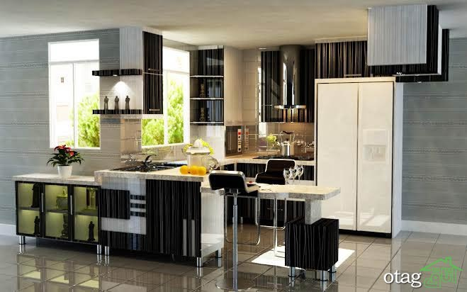 مدل دکوراسیون آشپزخانه ایرانی (5)