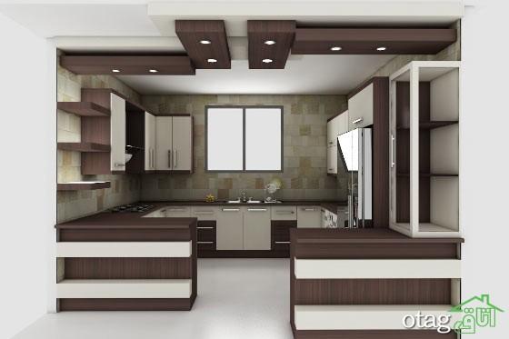 مدل دکوراسیون آشپزخانه ایرانی (6)