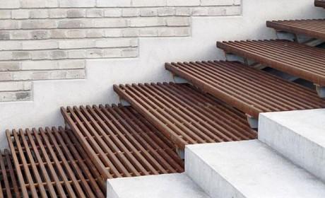 مدل راه پله حیاط به ایوان خانه با طراحی جدید و بروز