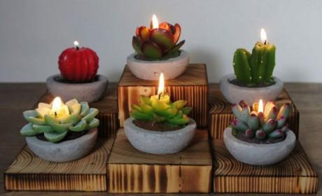 40 مدل شمع های فانتزی شیک و جالب برای تزیین دکوراسیون منزل