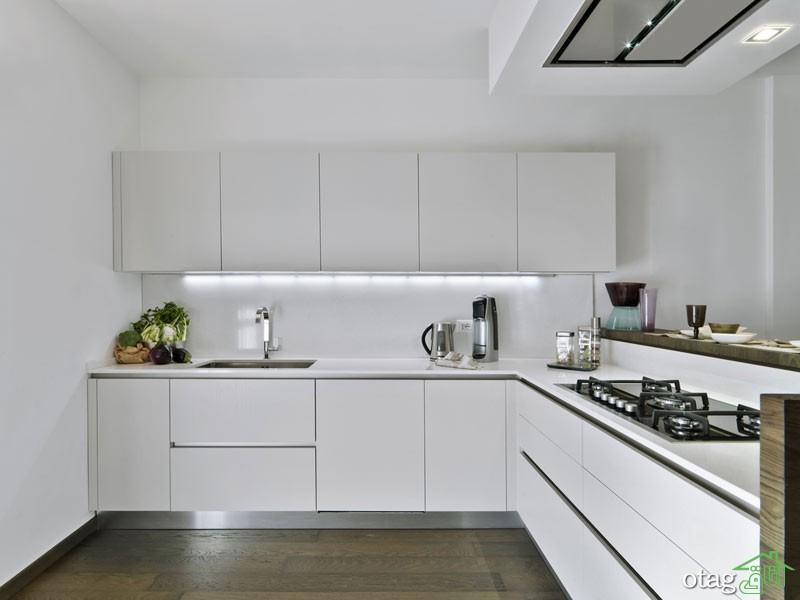 مدل کابینت آشپزخانه سفید (3)