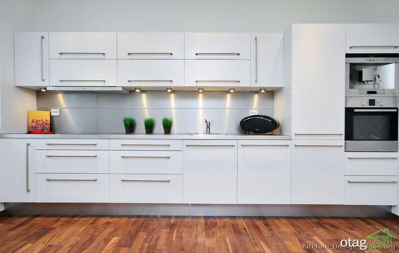 مدل کابینت آشپزخانه سفید (6)