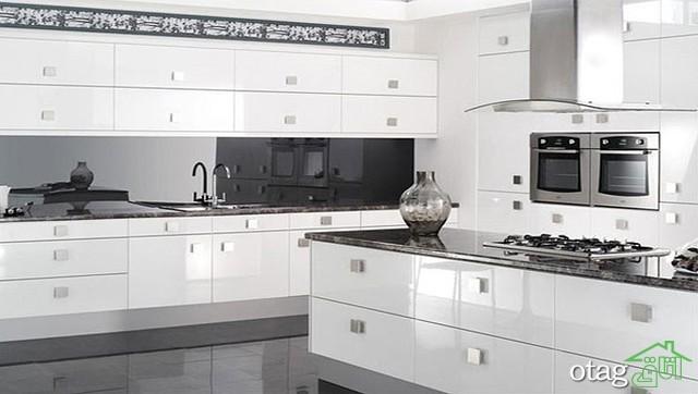 مدل کابینت آشپزخانه سفید (7)