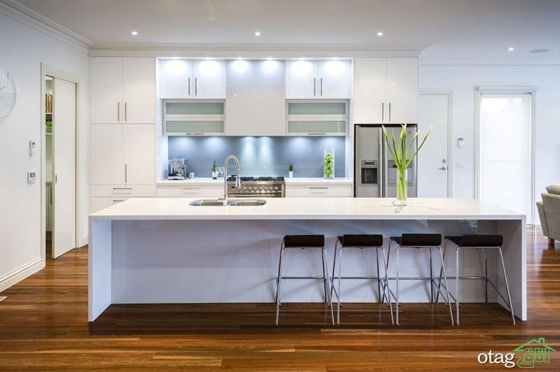 مدل کابینت آشپزخانه سفید (8)