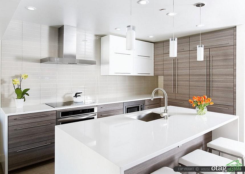 مدل کابینت آشپزخانه سفید (9)