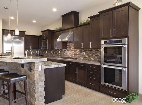 مدل کابینت آشپزخانه کلاسیک شیک (6)