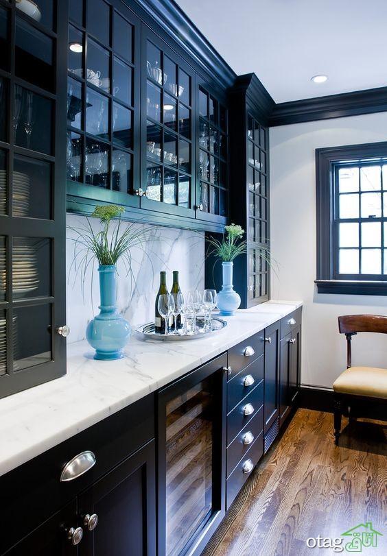 مدل کابینت آشپزخانه کلاسیک شیک (7)