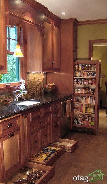 برترین مدلهای کابینت کلاسیک آشپزخانه با طرح های جالب و شیک