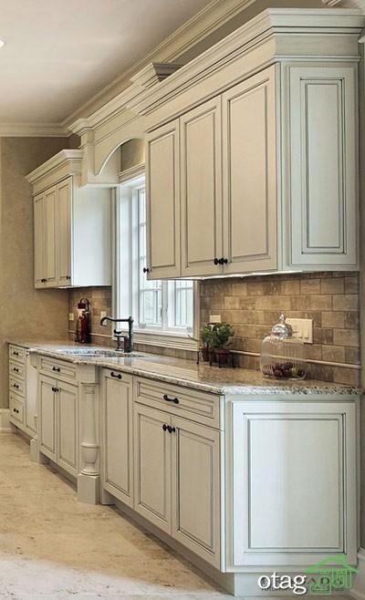 مدل کابینت کلاسیک آشپزخانه (10)