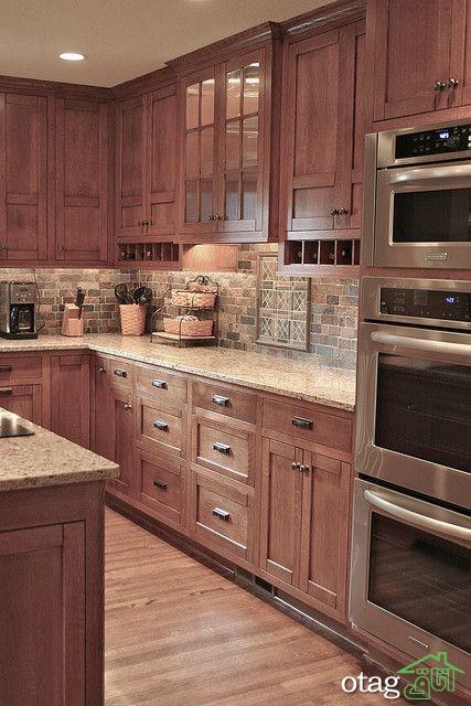 مدل کابینت کلاسیک آشپزخانه (12)