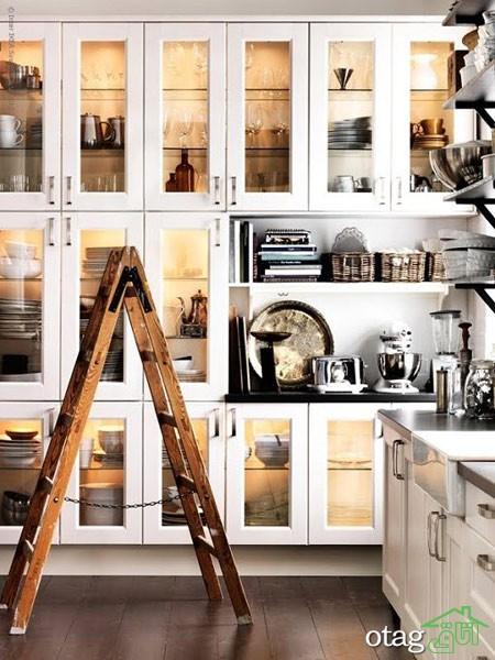 مدل کابینت کلاسیک آشپزخانه (5)