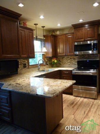 مدل کابینت کلاسیک آشپزخانه (6)