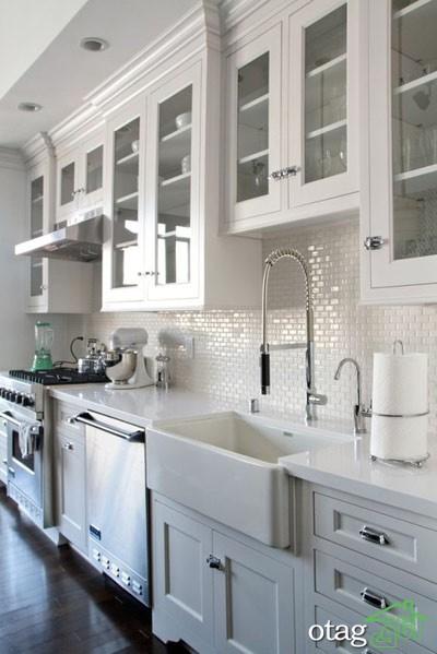 مدل کابینت کلاسیک آشپزخانه (7)