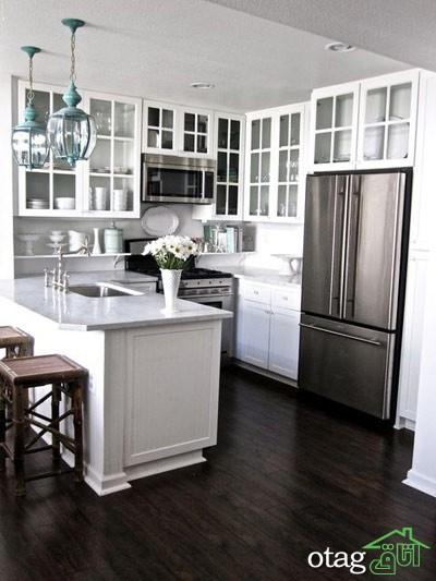 مدل کابینت کلاسیک آشپزخانه (8)