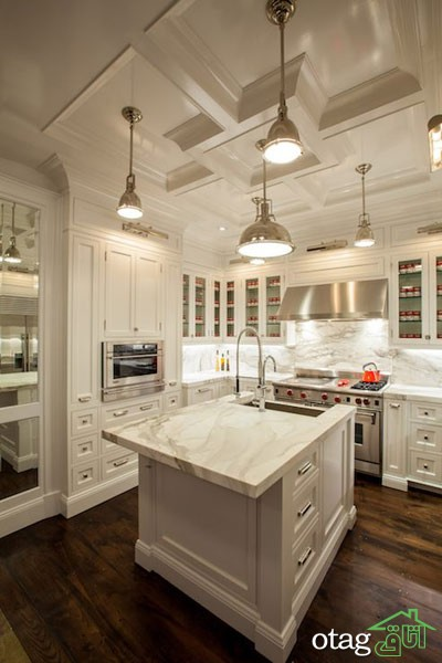 مدل کابینت کلاسیک آشپزخانه (9)