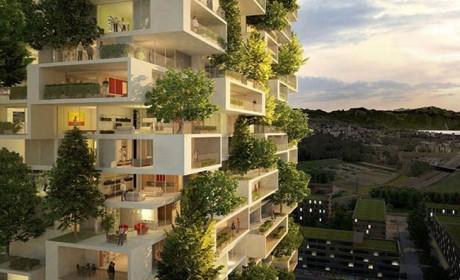 معماری طبیعت گرا در سازه های بی نظیر ویلایی و آپارتمانی