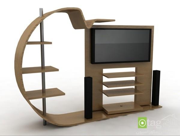 میز تلویزیون چوبی شیک (1)