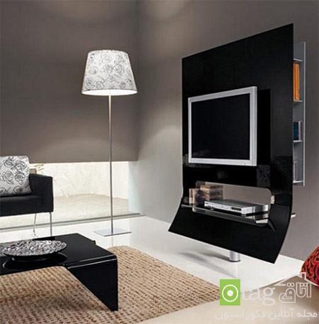 میز تلویزیون چوبی شیک (3)