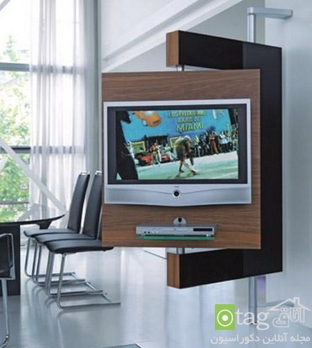 میز تلویزیون چوبی شیک (5)