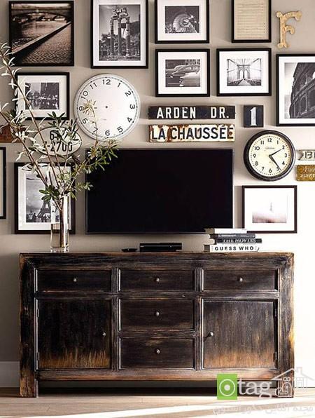 میز تلویزیون چوبی شیک (6)