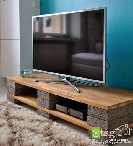 میز تلویزیون چوبی شیک (7)