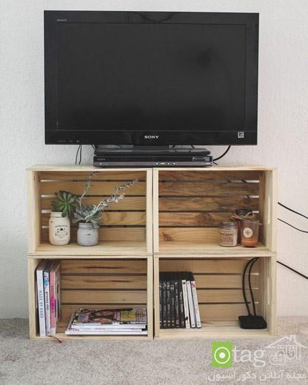 میز تلویزیون چوبی شیک (8)
