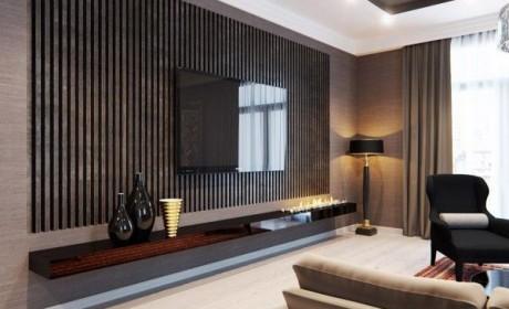 [38 مدل میز ال سی دی ام دی اف ] زیبا مناسب دکوراسیون اتاق نشیمن تلویزیون MDF