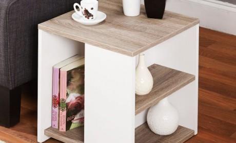 معرفی جالب ترین نمونه های میز عسلی ام دی اف، چوبی، فلزی و شیشه ای