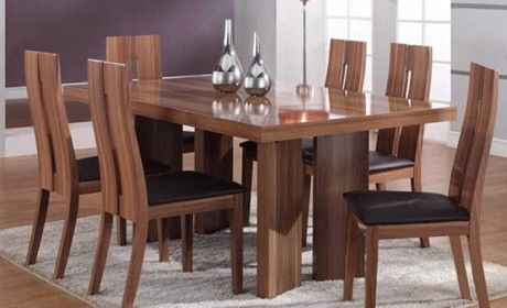 آشنایی با 30 مدل جدید میز ناهار خوری چوبی کلاسیک و مدرن