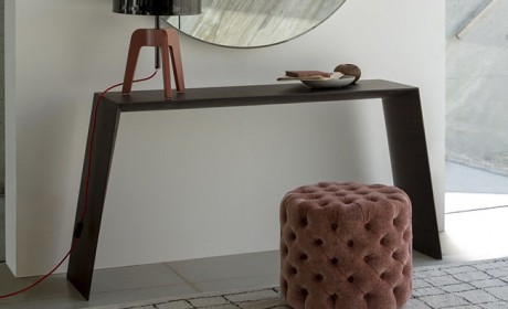 مدل میز کنسول و آینه مدرن مناسب راهروی آپارتمان های کوچک