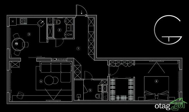 نقشه-خانه-های-60-متری (19)