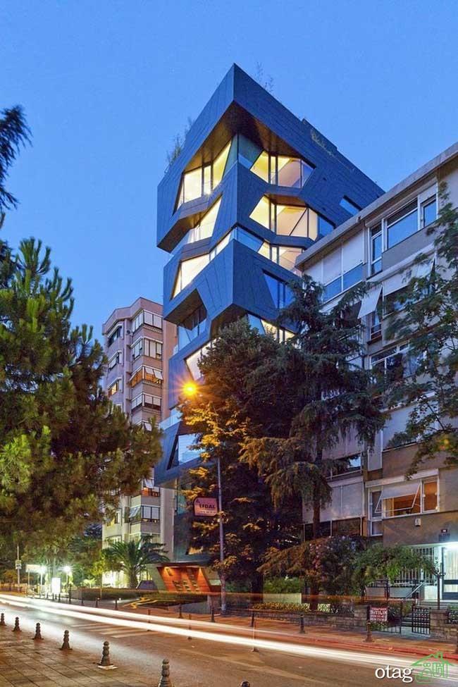 نمای-آپارتمان -مدرن (10)