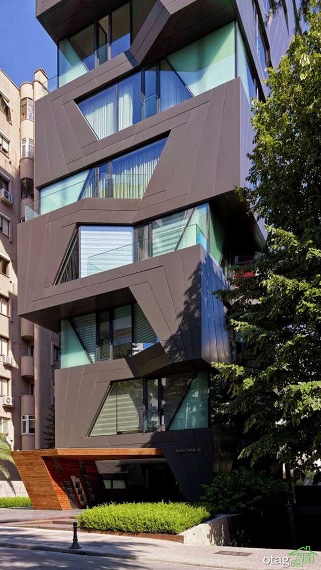 نمای-آپارتمان -مدرن (11)