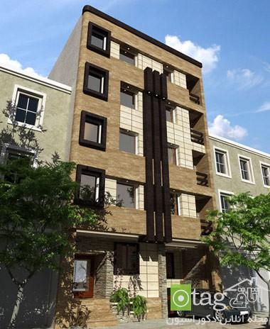 نمای ساختمان مسکونی ایرانی خارجی (4)