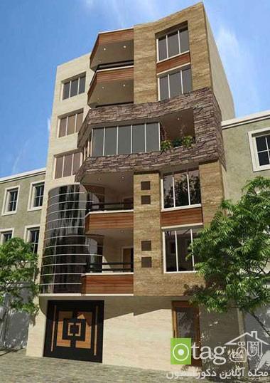 نمای ساختمان مسکونی ایرانی خارجی (5)