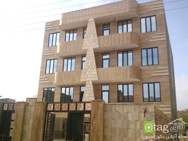 نمای ساختمان مسکونی ایرانی خارجی (6)