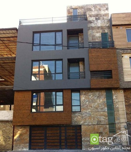 نمای ساختمان مسکونی ایرانی خارجی (7)