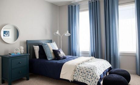 38 مدل شیک پرده اتاق خواب و نشیمن به رنگ آبی و رنگی [در سال جدید]