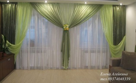 نصب پرده های ساده و شیک با حداکثر روشنایی و حفظ حریم خصوصی