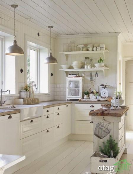 چیدمان آشپزخانه شیک (1)