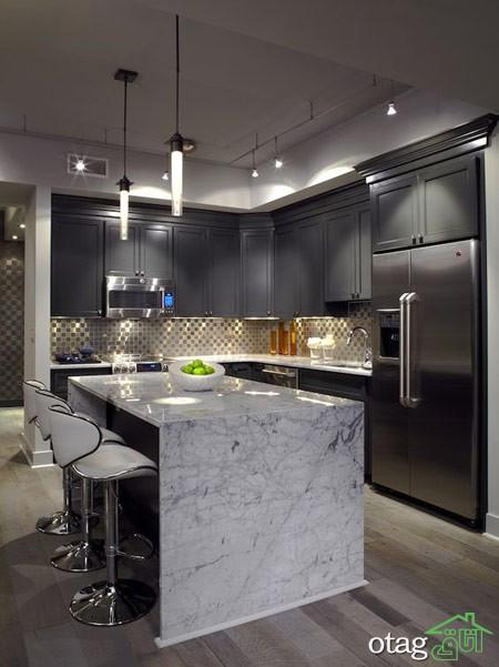 چیدمان آشپزخانه شیک (9)