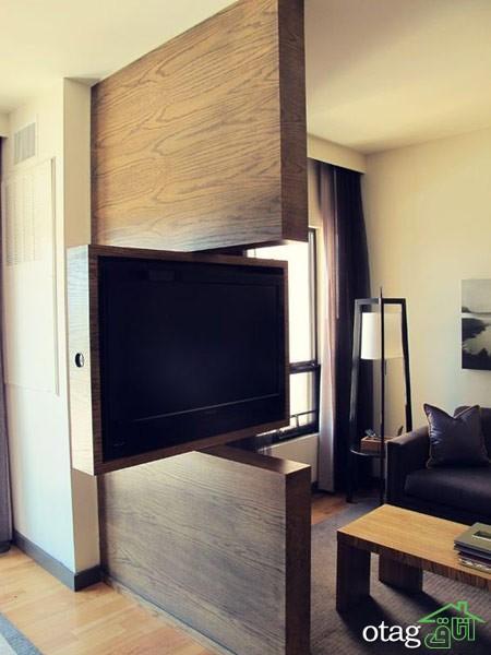 چیدمان دکوراسیون اتاق پذیرایی آپارتمان (7)