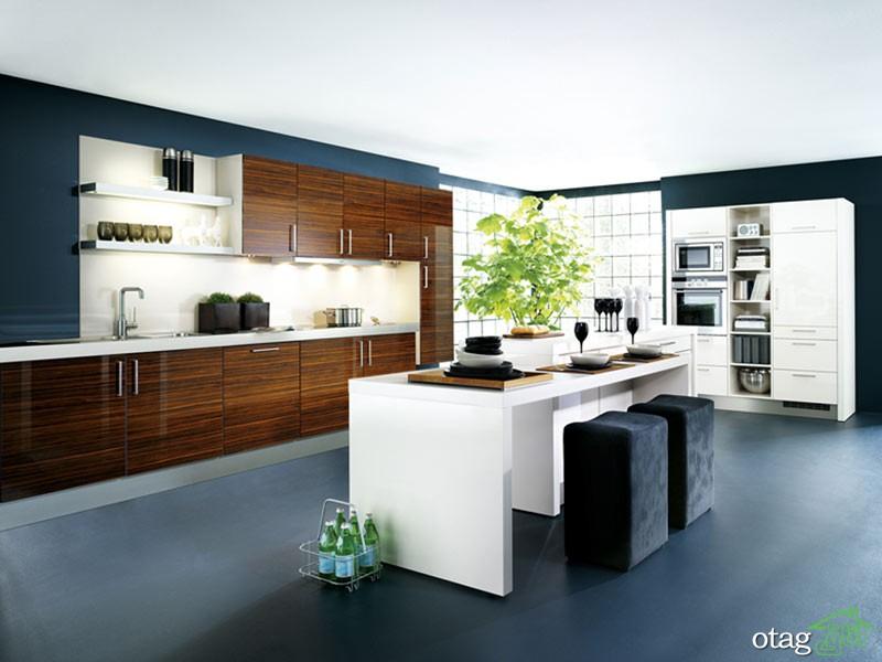 کابینت آشپزخانه مدرن جدید (10)