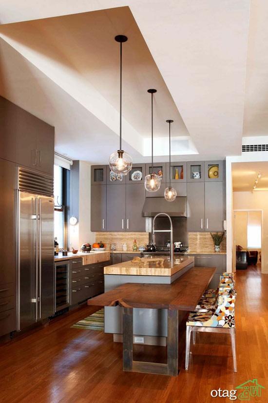 کابینت آشپزخانه مدرن جدید (13)