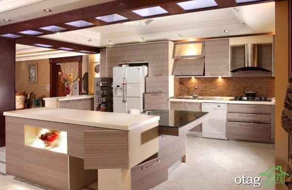 کابینت آشپزخانه مدرن جدید (14)