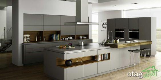 کابینت آشپزخانه مدرن جدید (21)
