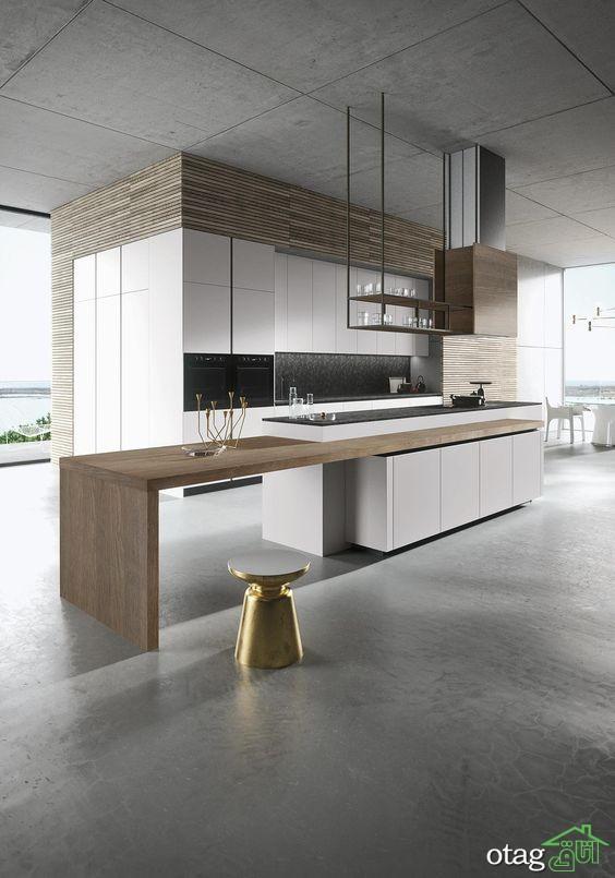 کابینت آشپزخانه مدرن جدید (8)